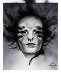 six-eyed pale face by GrathVonGraven