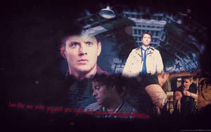 Destiel Wallpaper by PuppetMistress666