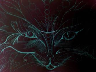 cat by DizzDrown