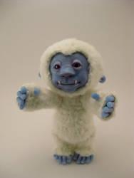 Teddy the Yeti by Whitness
