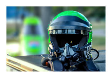 McLellan F1 Helmet by koffeeben