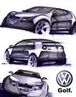 Volkswagen Golf by TenaciousRS