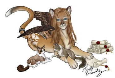 Jean Sphinx by PookaWitch
