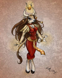 Priestess of Ra by PookaWitch