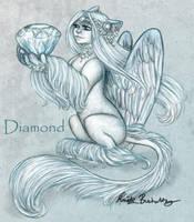 Diamond - April by PookaWitch