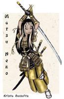 Matsu Neko by PookaWitch