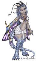 Dalina, Half faerie dragon by PookaWitch