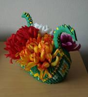 Dragon Boat (3D Origami) by Denierim