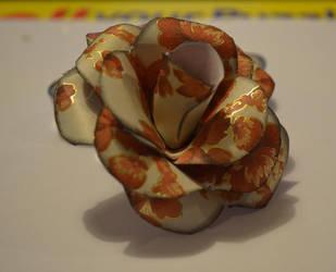 Paper rose by Denierim