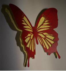 Paper Butterfly by Denierim