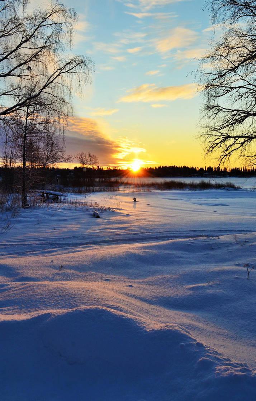 Christmas Eve Sunrise by Denierim
