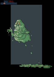 slimer by nightwing1975