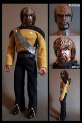 worf 12' by nightwing1975