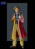 6th doctor by nightwing1975