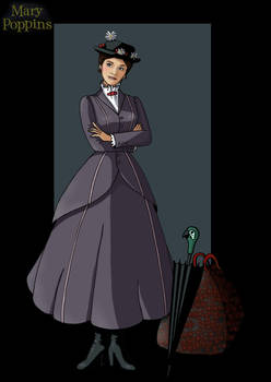 mary poppins by nightwing1975