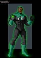 green lantern by nightwing1975