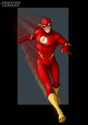 the flash by nightwing1975