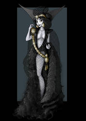 jasmine vampire  -  commission by nightwing1975