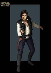 han solo  -  commission by nightwing1975