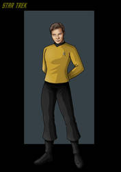 captain james tiberius kirk. by nightwing1975