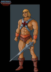 filmation He-Man - commission by nightwing1975