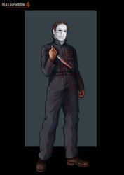 h4 michael myers -  commission by nightwing1975