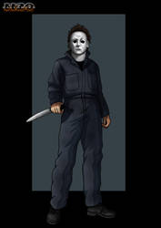 h7 michael myers  - commission by nightwing1975