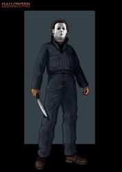 h8 michael myers  - commission by nightwing1975