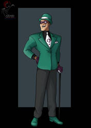 the riddler  -  commission by nightwing1975