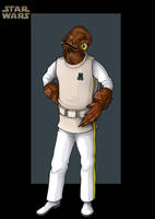 admiral ackbar  -  commission by nightwing1975