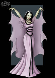 lily munster by nightwing1975