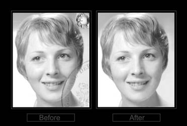 drews mum (photo restoration)  -  commission by nightwing1975