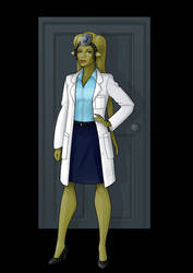 Dr. shannon collinson / nima gella  -  commission by nightwing1975