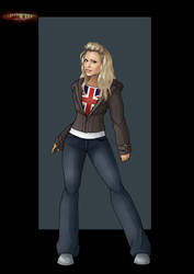 rose tyler by nightwing1975