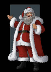 santa claus by nightwing1975