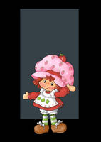 strawberry shortcake by nightwing1975