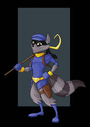 sly cooper by nightwing1975