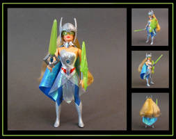 She-Ra galactic protector (vintage style) custom by nightwing1975