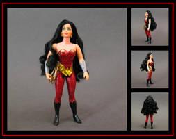 wonder girl (princess of power style) custom figur by nightwing1975