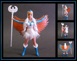 The Sorceress (vintage POP style) custom figure by nightwing1975