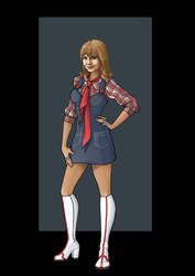 Jo Grant (Day of the Daleks) by nightwing1975