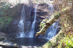 waterfall at glenariff by nightwing1975