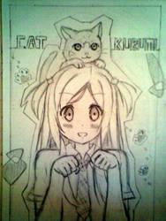 Kurumi and Cat by lolihookers