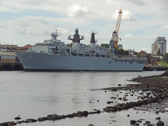 L15 HMS Bulwark by omick