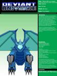 Deviant Universe - TMWX-001 Fury Raptor by DarknessOfMemory