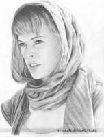 Milla Jovovich by o-renata