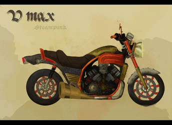 Steampunk V Max by Oursgris