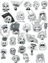 The Mini Gaga Army pt. 3 by MajoraEmpress
