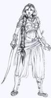 Princess Jasmine by tachypnoe