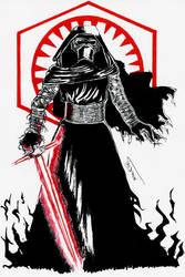 [Star Wars] Head Knight of Ren by tachypnoe